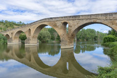 Getti un ponte sulla regina Immagini Stock Libere da Diritti