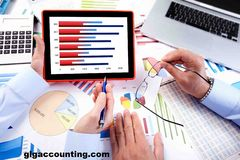 Getting A Chicago CPA For Your Startup | GLG Accounting Royalty Free Stock Images
