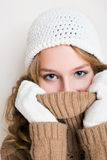 Getting cold... Stock Photo