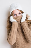 Getting cold... Royalty Free Stock Photos
