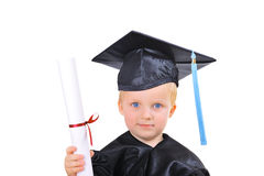 Getting diploma Royalty Free Stock Image