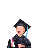 Getting diploma Royalty Free Stock Photo
