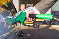 Getting gas Stock Images
