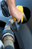 Getting Gas or petrol Royalty Free Stock Photography