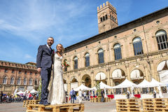 Getting married in Italy Royalty Free Stock Images