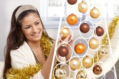 Getting ready for christmas Royalty Free Stock Images