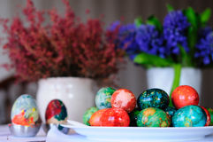 GETTING READY FOR EASTER Stock Image