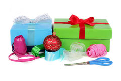 Getting ready for the Holidays Royalty Free Stock Photos