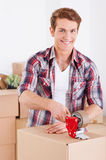 Getting ready for moving. Stock Image