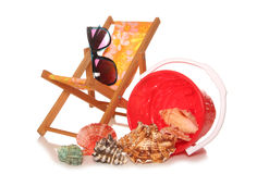 Getting ready for summer holidays Royalty Free Stock Image