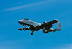 A10 getting ready to land Royalty Free Stock Image