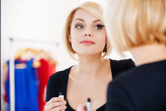 Getting ready to the night out. Stock Photo