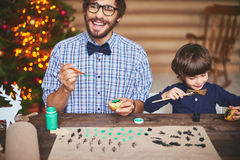 Getting ready for xmas Royalty Free Stock Photo