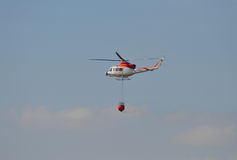 Fire Fighting Helecopter Royalty Free Stock Images