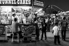 Getting something to eat at the Fair Royalty Free Stock Photography