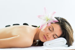 Getting spa Royalty Free Stock Images