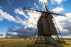 Gettlinge Windmill. Old windmill in Gettlinge, Öland, Sweden stock images