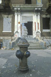 Gettonachbarschaftsecke, Süd-Bronx, New York stockbild