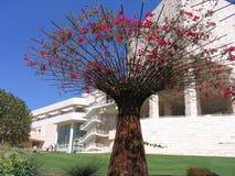 getty δέντρο μουσείων στοκ εικόνα