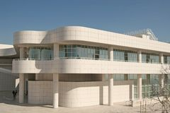 Getty Center Stock Photography