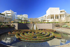 The getty center. FEB 11, Los Angeles: The famous Getty Center on FEB 11, 2015 at Los Angeles Stock Image