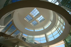 The getty center. FEB 11, Los Angeles: The famous Getty Center on FEB 11, 2015 at Los Angeles Royalty Free Stock Photos
