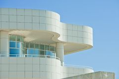 Getty Center, Modern Building, Los Angeles, California, USA stock photography