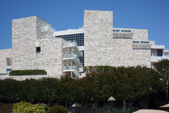 The Getty Center museum Royalty Free Stock Photo