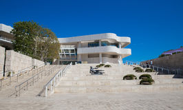 Getty Center. The Getty Center  and Paul Getty museum Foundation in Los Angeles, California Stock Photography