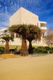 Getty-Garten u. Ausstellungs-Galerie lizenzfreie stockfotos