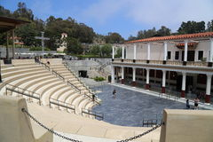 Getty Museum - Getty Villa. The J. Paul Getty Museum, commonly referred to as the Getty, is an art museum in California housed on two campuses: the Getty Center Royalty Free Stock Photos