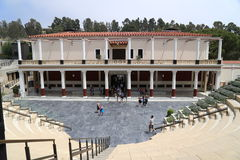 Getty Museum - Getty Villa. The J. Paul Getty Museum, commonly referred to as the Getty, is an art museum in California housed on two campuses: the Getty Center Stock Images