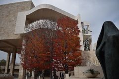 The Getty Museum Royalty Free Stock Photo