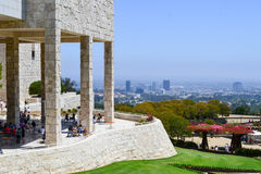 Getty museum Los Angeles stock photography