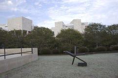 Getty powierzchowności Muzealny ogród Zdjęcia Royalty Free