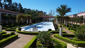 getty villa Royaltyfri Bild