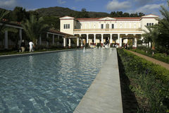 Getty villa Stock Photo