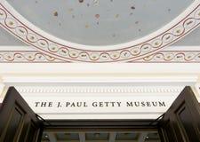 The Getty Villa Entrance Stock Photography