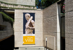 The Getty Villa Entrance Royalty Free Stock Photo