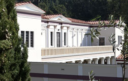 Getty Villa Malibu. J. Paul Getty Villa Malibu California Stock Images