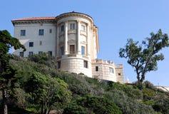 Getty Villa Malibu. J. Paul Getty Mansion Malibu California royalty free stock images