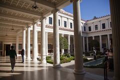Getty Villa Malibu Stock Photos