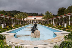 The Getty Villa. The Outer Peristyle at at the Getty Villa in Los Angeles, California Royalty Free Stock Image