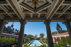 Getty Villa. The Getty Villa in the Pacific Palisades neighborhood of Los Angeles, California, USA, is one of two locations of the J. Paul Getty Museum Stock Images