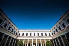 Getty Villa. The Getty Villa in the Pacific Palisades neighborhood of Los Angeles, California, USA, is one of two locations of the J. Paul Getty Museum Royalty Free Stock Images