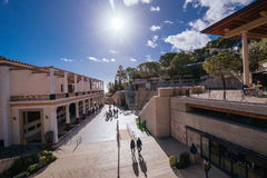 Getty Villa in Pacific Palisades Stock Photography