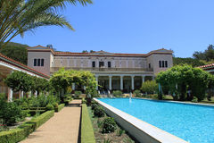 The Getty Villa Royalty Free Stock Photography