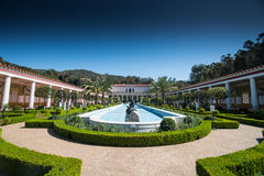 Getty Villa. A recreation of an ancient Roman country house, the Getty Villa offers a taste of life in the first century A.D Stock Photo