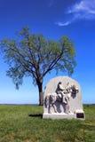 Gettysburg εθνικό μνημείο ιππικού της Πενσυλβανίας πάρκων 17ο Στοκ φωτογραφία με δικαίωμα ελεύθερης χρήσης