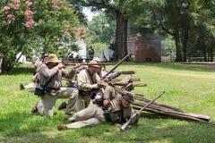 Gettysburg Battle Reenactment Stock Images